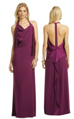 We're bringing sexy back with this backless DVF stunner, perfect for that destination #blacktie wedding.