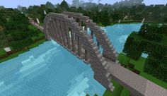 Minecraft Railroad Arch Bridge - Imgur