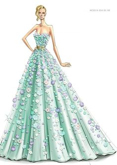nice Zuhair Murad dress #fashion #illustration #evatornadoblog #mycollection... by http://www.polyvorebydana.us/fashion-sketches/zuhair-murad-dress-fashion-illustration-evatornadoblog-mycollection/