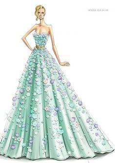 nice Zuhair Murad dress #fashion #illustration #evatornadoblog #mycollection... by http://www.polyvorebydana.us/fashion-sketches/zuhair-murad-dress-fashion-illustration-evatornadoblog-mycollection/