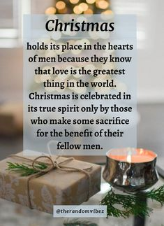 Christmas is celebrated in its true spirit only by those who make some sacrifice for the benefit of their fellow men. #Christmasquotes #Merrychristmasquotes #Shortchristmasquotes #2020Christmasquotes #Merrychristmas2020quotes #Christmasgreetings #Inspirationalchristmasquotes #Cutechristmasquotes #Christmasquotesforfriends #Warmchristmaswishes #Bestchristmasquotes #Christmasbiblequotes #Christmaswishesforfamily #Christmascaptions #Festivechristmasquotes #Santaclausquotes #therandomvibez Christmas Wishes For Family, Short Christmas Quotes, Christmas Quotes Images, Christmas Quotes For Friends, Christmas Captions, Christmas Bible, Grinch Christmas, Christmas And New Year, New Year Greetings