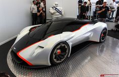 Aston Martin presents to the world the Aston Martin DP-100 vision Gran Turismo at Michelin Supercar Paddock stand...
