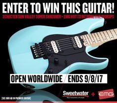 EMG Pickups / PROMO - EMG/Sweetwater/Schecter / Electric Guitar Pickups, Bass Guitar Pickups, Acoustic Guitar Pickups