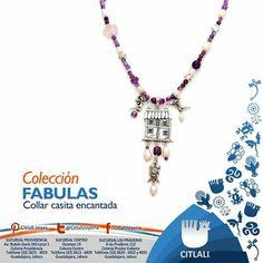 Joyas originales, llenas de creatividad. www.joyascitlali.com