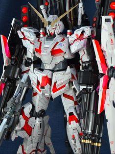 Custom Build: PG 1/60 RX-0 Full Armor Unicorn Gundam [Detailed] - Gundam Kits…