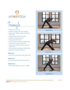 22 Best Ms Yoga Poses Images Multiple Sclerosis Yoga Poses Yoga