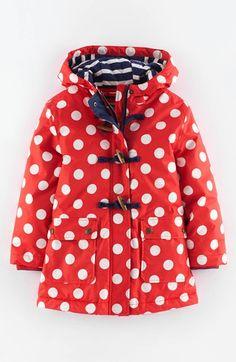 Mini Boden Hooded Raincoat (Toddler Girls, Little Girls & Big Girls) available at #Nordstrom