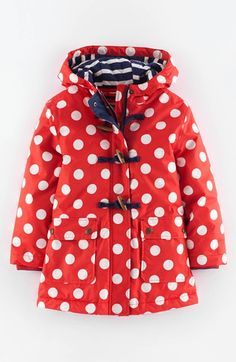 Mini Boden Hooded Raincoat (Toddler Girls, Little Girls & Big Girls) available at #Nordstrom