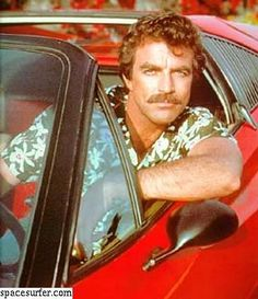 Tom Selleck:  Great even without a pornstache, but a pornstached Tom is the best Tom.    He gets 4 'staches