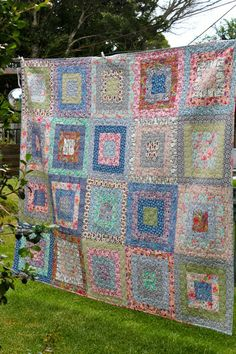 Liberty fabrics quilt - as seen in Down Under Quilts #151