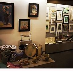 """via in the Gallery Store: """"Almost there!"""" Set up for tonight's Pop-Up Shop with the Creative Workshop. Memorial Art Gallery, Creative Workshop, Local Artists, Original Art, Gallery Wall, Ceramics, Photo And Video, Pop, Store"""