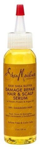 SheaMoisture Raw Shea Butter Damage Repair Hair & Scalp Serum - 2 fl oz