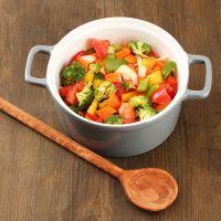 crockpot vegetable stew/no meat.
