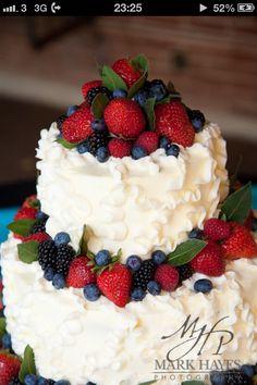 Bridal shower cake?!?! Yumyumyum.