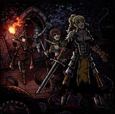 Search 'Konosuba' on DeviantArt - Discover The Largest Online Art Gallery and Community Larp, Darkness Konosuba, Character Art, Character Design, Darkest Dungeon, High Fantasy, Illustrations, Dark Souls, Fantasy Artwork