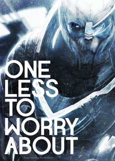 One less to worry about. #masseffect #garrus