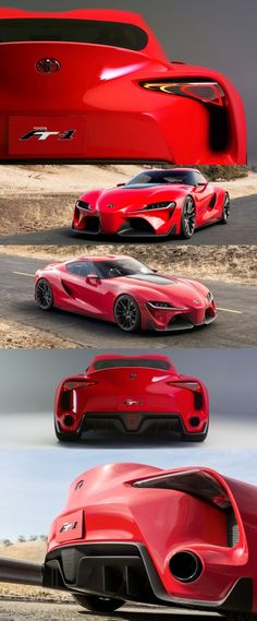 The First Toyota FT-1. Can't help but make comparisons with the TVR Sagaris, especially the rear end. But what do you think? (J Train)