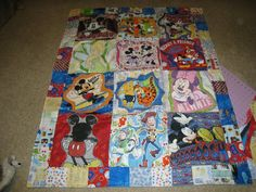Disney quilt  By Kelly Sleek