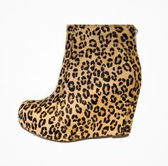 Jeffery Campbell Leopard Booties. I think I'm in love