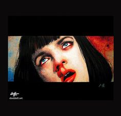 Print 8x10  Girl you'll be a women soon  Pulp Fiction by chuckhodi, $10.00