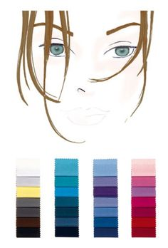 Farbtyp mittel-warm-kalt: die perfekten Farben Color type medium-warm-cold: the perfect colors Hair and beauty Soft Summer Color Palette, Summer Colors, Warm Colors, Winter Colors, Natural Summer Makeup, Winter Typ, Seasonal Color Analysis, Types Of Colours, Soft Autumn