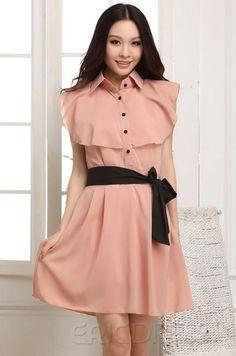 New Fashion Korean Style Falbala Dress.