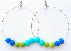Cool Shades Beaded Earrings | AllFreeJewelryMaking.com