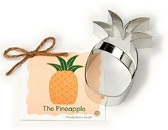 Pineapple Gift Guide Cookie Pancake Cutter
