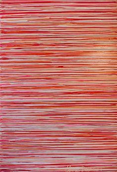 """Family Potrait"" by Claire Desjardins – 40″x60″ – Acrylics on canvas."