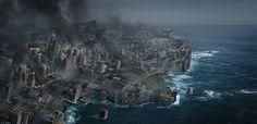 Create an Earth Shattering Disaster Scene in Photoshop - Tuts+ Design & Illustration Tutorial