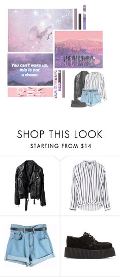 """Not Today--- BTS"" by alicejean123 ❤ liked on Polyvore featuring Topshop, Chicnova Fashion and Underground"