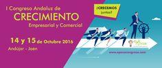 Andújar acogerá el I Congreso Andaluz de #CrecimientoEmpresarial y Comercial el 14 y 15 de Octubre  #APECAcongreso
