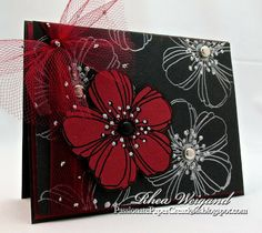 Rhea Weigand – Fresh Bloom Card | Stampendous Impressions