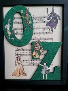 Wall hanging for the Wizard of Oz swap made by Margary Thrasher