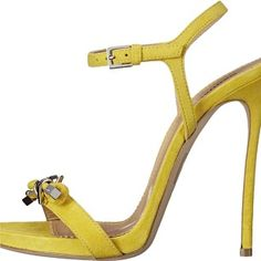 Dsquared2 Giallo camoscio Pumps