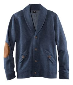 i'm really obsessed with elbow patches and with men's sweaters...