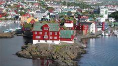 Tórshavn la capital de las Islas Feroe