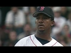 OAK@BOS: Pedro strikes out 12 over seven innings - YouTube