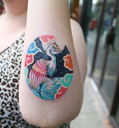 Tattoos That Will Turn Your Skin into A Colorful Folktale Mini Tattoos, Body Art Tattoos, Small Tattoos, Tattoos For Guys, Tattoo Art, Fire Tattoo, Back Tattoo, Unique Tattoo Designs, Unique Tattoos