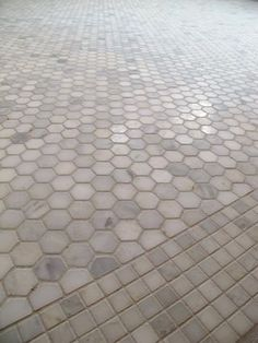 Marble Hex and Square Tile