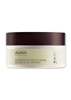 Winter Skin Savers - Ahava SOFTENING BUTTER SALT SCRUB from #InStyle