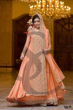 Real Pakistani Walima Bride