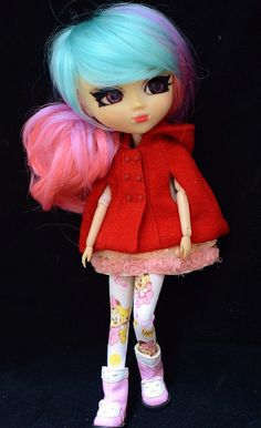BT829 Baby Minnie Mouse Pink Tights Leggings for blythe and Pullip Dolls  NEW