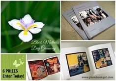 Special Mother's Day GIVEAWAY by Blurb! Win one of $300 in prizes! Enter by 4/20/15.