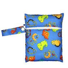 New Reusable Baby Cloth Diaper Bags Travel Cartoon Print Baby Wet Dry Bags Zipper Nappy Maternity Bag Wetbags Bolso Maternidad Cheap Diaper Bags, Baby Diaper Bags, Nursing Pads, Wet Bag, Wet And Dry, Baby Prints, Cloth Diapers, Cute Animals, Maternity