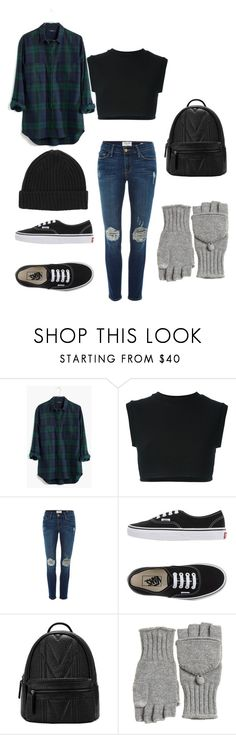 """Untitled #16"" by kbwalrus on Polyvore featuring Madewell, adidas Originals, Frame Denim, Vans and Calypso St. Barth"