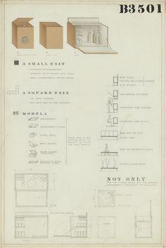Organic Design Case Goods | Eames Office  @museummodernart