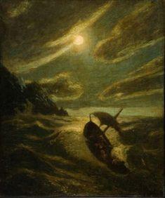 Sea Tragedy Albert Pinkham Ryder - circa 1892