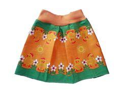 Table cloth by Bodil Wallman / Bowa became a skirt by Flyg Fula Fluga.