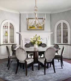 Modern style design has clean lines and curves, without clutter. Here we collected more than 40 examples of beautiful modern dining room ideas for your inspiration. Please take time to browse through them and drop your note if you like any of the dining rooms.